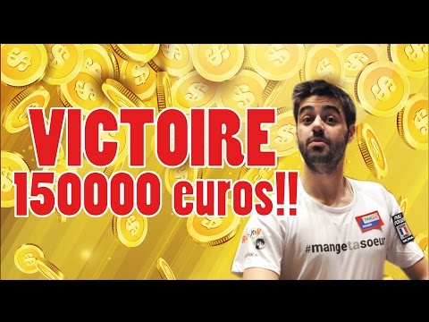 YOH VIRAL - JE GAGNE 150 000 EUROS SUR UN TOURNOI DE POKER ONLINE