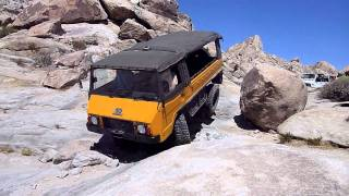 2011 High Desert Roundup in a Pinzgauer