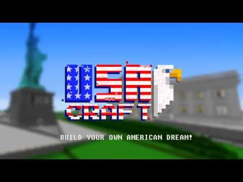 USA Mine&Craft - Statue of Liberty and american dream! Crafting & Building!