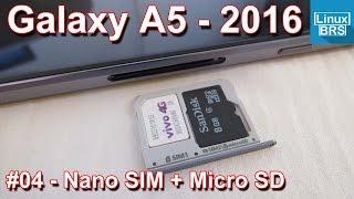 Samsung Galaxy A5 2016 - Nano SIM + Micro SD - Português