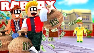 WE STOLE 1 MILLION REAIS IN A MANSION IN ROBLOX!