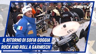 Sofia Goggia Rock & Roll a Garmisch