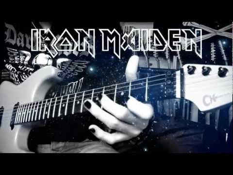 Wasted Years guitar cover - Iron Maiden (Full HD)