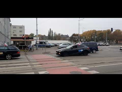 [Radio Gdańsk] Protest taksówkarzy. Gdańsk 26.10.2020 r.