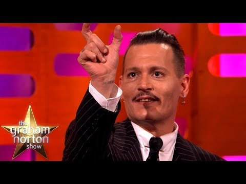 Johnny Depp's Jack Sparrow Prank Didn't Go So Well  The Graham Norton