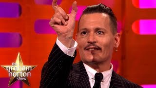 connectYoutube - Johnny Depp's Jack Sparrow Prank Didn't Go So Well | The Graham Norton Show