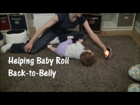 Helping Baby Roll Back to Belly