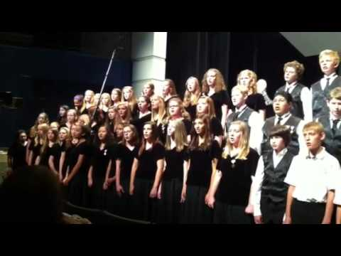White Pines Middle School Collage Concert June 4, 2012
