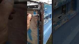 видео защелки на прицеп
