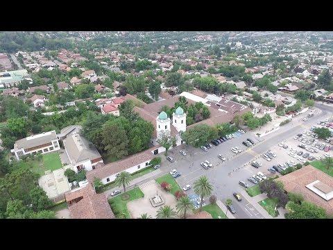 Phantom 3 Advanced aerial view at Los Dominicos in Santiago de Chile