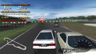 PCSX2 Driving Emotion Type-S Suzuka Circuit Toyota Sprinter Trueno GTV AE86 Gameplay!