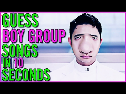 GUESS KPOP BOY GROUP SONGS IN 10 SECONDS