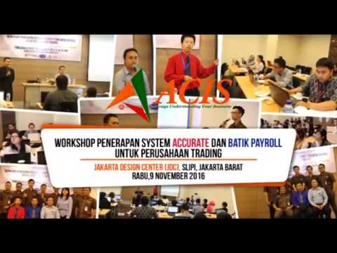 WORKSHOP ACIS & BATIK SOFTWARE