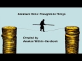 Abraham Hicks~Time and Money running out~Do this for a few days.~ AD FREE
