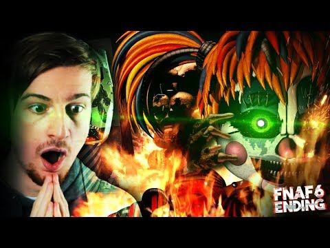 THE TRUE ENDING OF FNAF (Good Ending) || Five Nights At Freddy's 6 (ENDING)