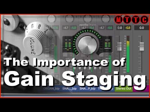 Logic Pro X: Setting Correct Audio Input Signals Through Gain Staging