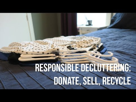 Easy and Responsible Ways to Get Rid of Decluttered Clothing: Donate, Sell, Recycle
