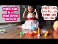 Trò chơi bác sĩ khám bệnh cho búp bê - Poko kids mini doctor play set