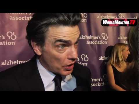 Korrina Rico interviews Peter Gallagher at 20th Anniversary Alzheimer's Association event