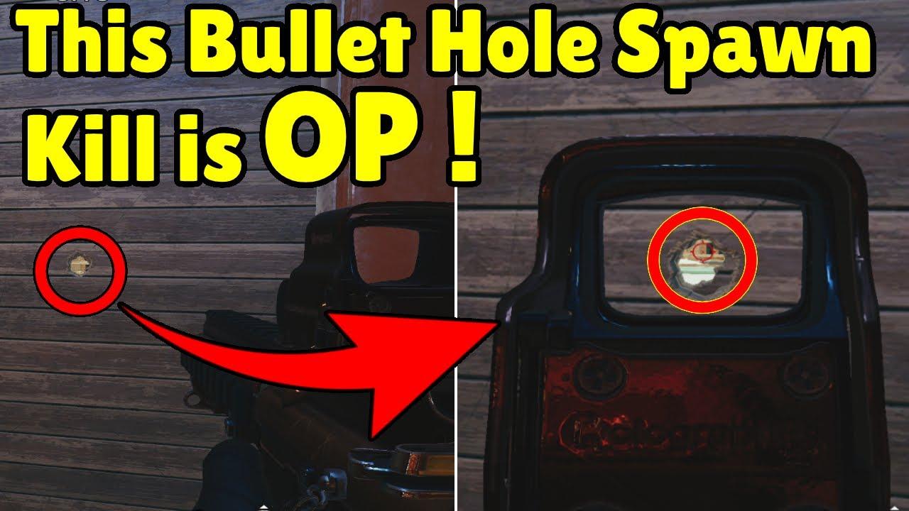 How Pro Players Spawnpeek in Ranked * Bullet Hole Spawnpeek is OP * - Rainbow Six Siege