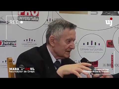 Ion Turcu: Profesia de judecător este biblică