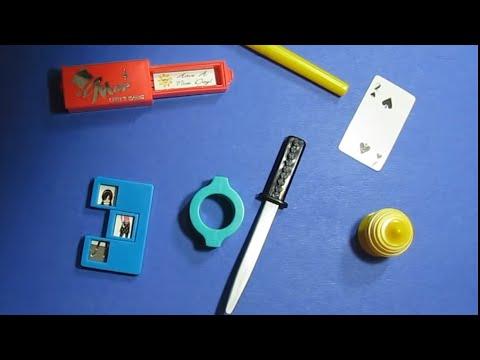 Mini Magic Tricks Book and Trick Set