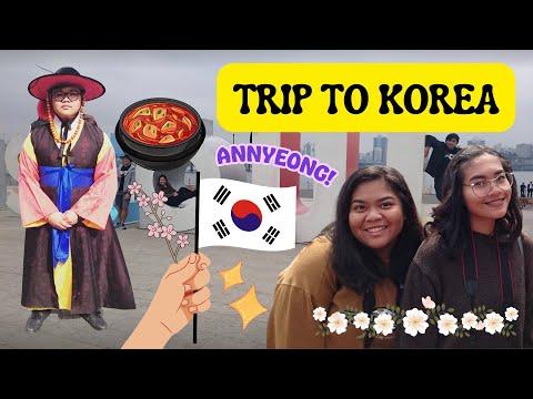 SENIOR TRIP TO SOUTH KOREA // TRAVEL VLOG