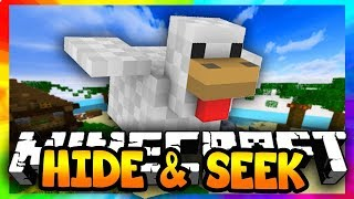 Minecraft|Hide and seek(npc)  Не блоки а люди!!!
