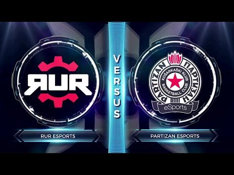 FCS S2 Round 1 - Partizan vs RuR Esports
