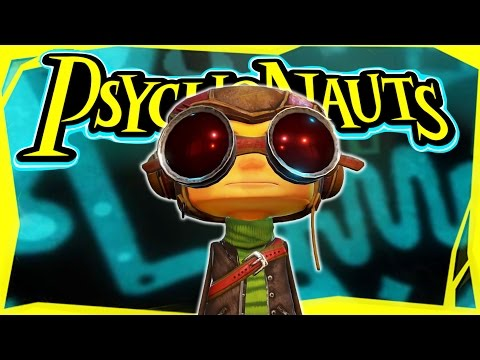Let's Play Psychonauts Part 1 - Whispering Rock Summer Camp [Gameplay/Walkthrough]