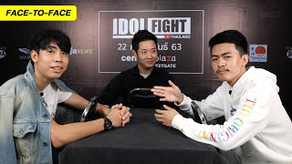 UDiEX2 vs SPRITE SALAIDER   IDOL FIGHT FACE-TO-FACE