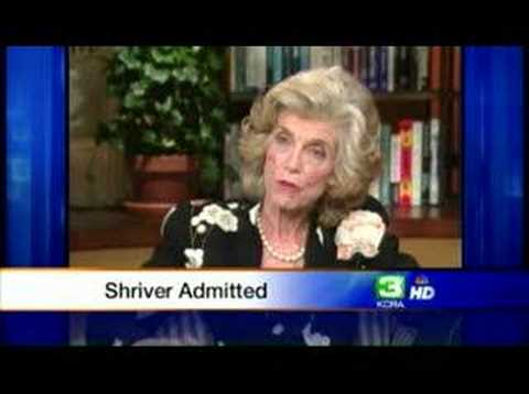 Eunice Kennedy Shriver Hospitalized