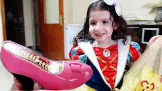 Esmanur Pamuk Prenses Oldu Sındrella Olamadı - Çikolata Ayakkabı Video