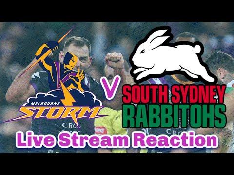 Melbourne Storm V South Sydney Rabbitohs | NRL Round 4 - Live Stream | Reaction