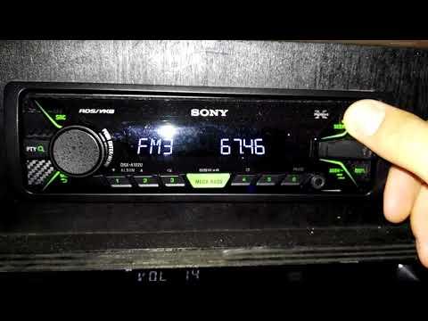 OIRT reception on Sony Car Radio DSX-A102U