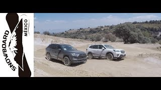 Toyota Rav4 2019 vs Subaru Forester 2019 - Test Off-Road parte 1
