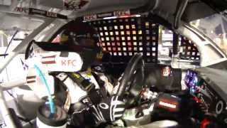 Clint Bowyer radio chatter during black flag
