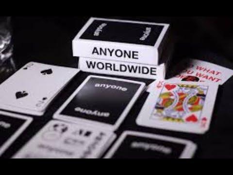 Anyone WW Black Logo Playing cards / Cardistry Compilation by Dr.Deck