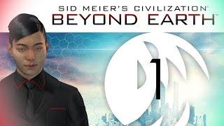 Civilization: Beyond Earth - Rising Tide Gameplay #1 (Chungsu, Harmony/Purity)
