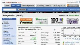 Penny Stock Quotes   Penny Stock Investing   Stock Market Basics