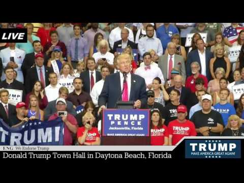 Donald Trump Rally in Jacksonville, Florida FULL SPEECH HD STREAM