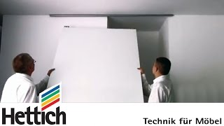 Create storage space in alcoves with sliding doors: Do-It-Yourself with Hettich