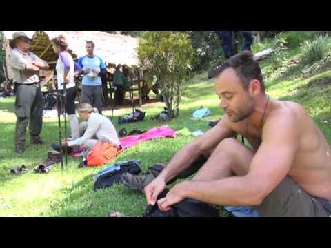 Gyton Grantley  Kokoda Track  Life Challenge  Killer Worms