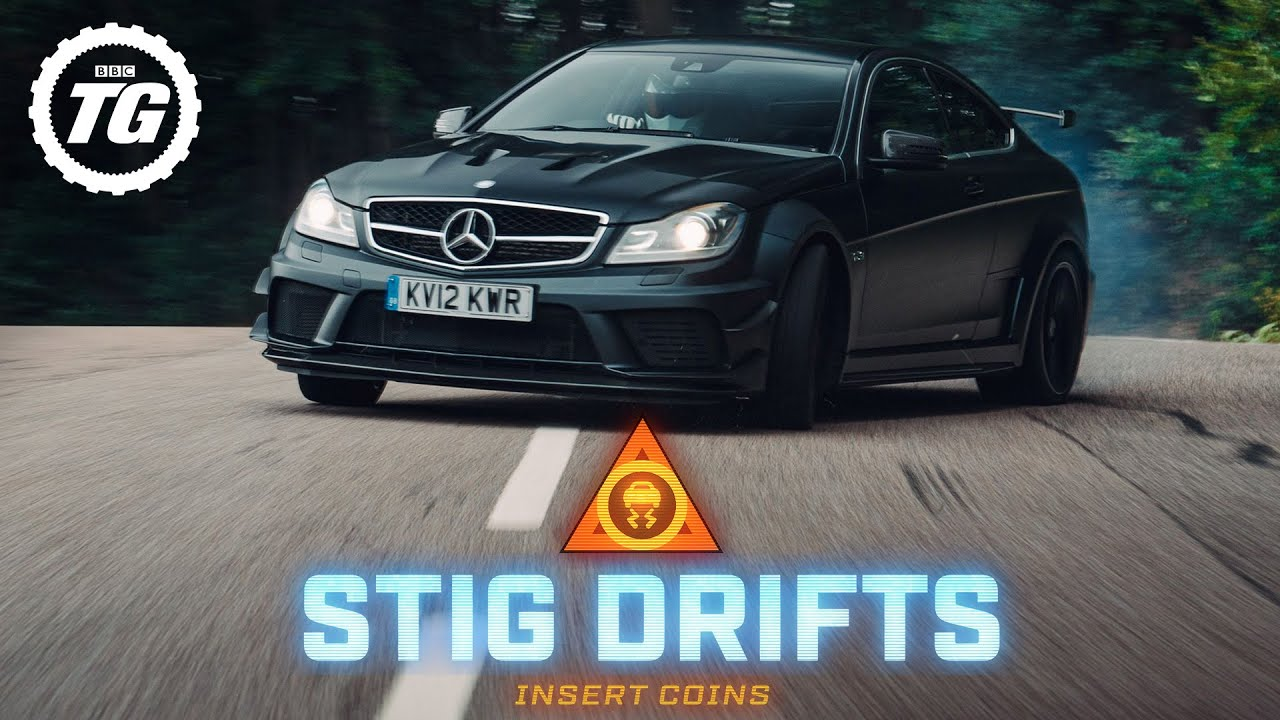 STIG DRIFTS: Mercedes-AMG C63 Black Series | Top Gear