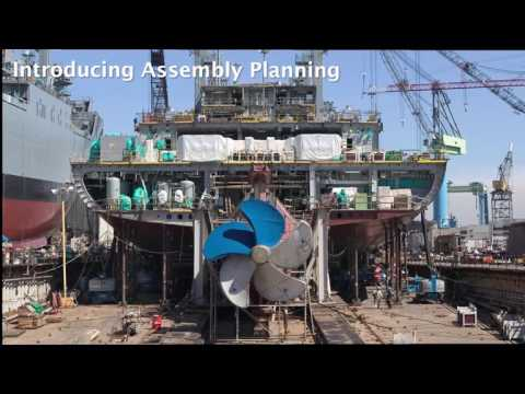Work Planning: Sharing the shipbuilding experience