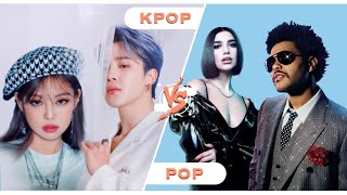 KPOP VS POP... AGAIN [PICK ONE DROP ONE]