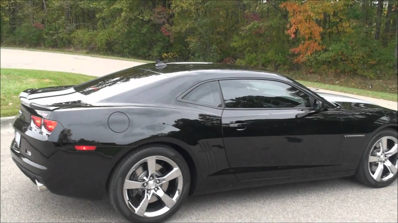 2011 Camaro SS  Borla Exhaust Compilation inside and outside