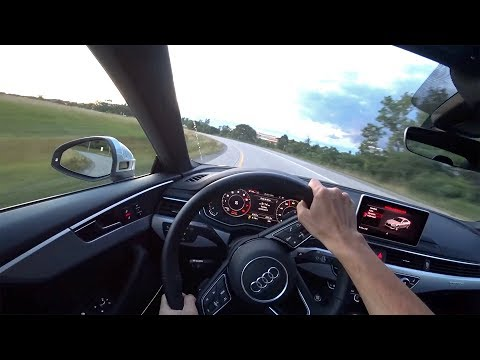 2018 Audi A5 - Walkaround & POV Test Drive (Binaural Audio)