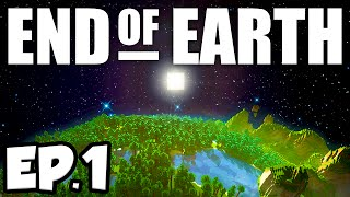 End of Earth: Minecraft Modded Survival Ep.1 - THE END OF THE WORLD!!! (Steve