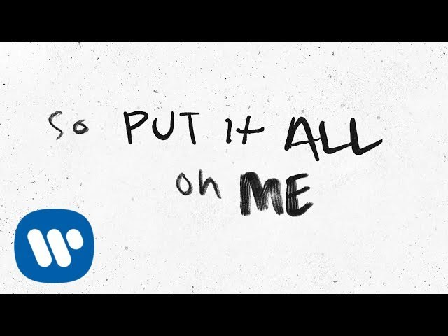 Ed Sheeran Put It All On Me Feat Ella Mai Official Lyric Video Youtube